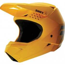 Casque cross shift whit3 jaune 2018