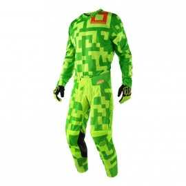 Tenue troy lee designs gp maze jaune fluo vert