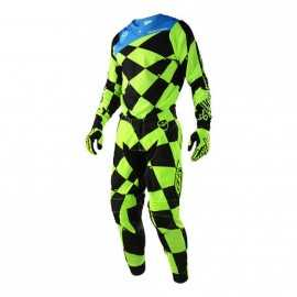 Tenue Troy lee designs Se Joker jaune fluo noir