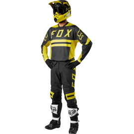 Tenue Fox Flexair Preest dark jaune