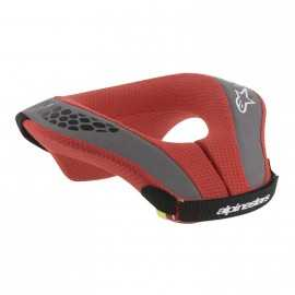 Tour de cou Enfant Alpinestars Sequence Neck Roll noir rouge