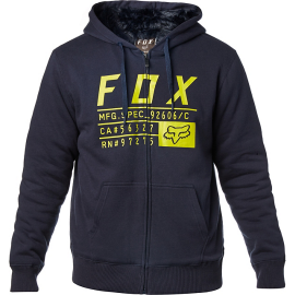 Sweat Fox Compliance Sasquatch zippé midnight
