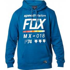 Sweat à capuche Fox District 2 bleu