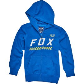 Sweat Fox enfant Full Mass zippé bleu