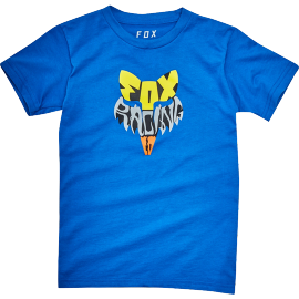 Tee-shirt Fox Kids Lyruh bleu