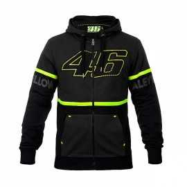 Sweat VR46 zippé dark grey