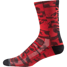 "Chaussettes fox trail creo 8"" rouge 2018"