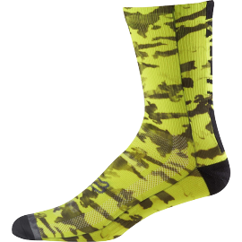 "Chaussettes fox trail creo 8"" jaune fluo 2018"