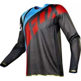 Maillot Fox Flexair Seca gris rouge