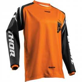 Maillot cross Thor sector zone orange