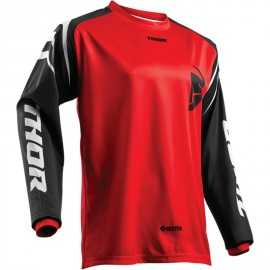 Maillot cross Thor sector zone rouge