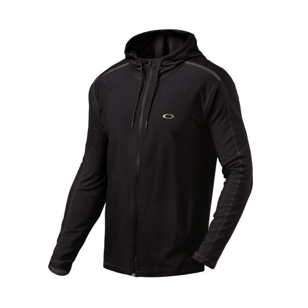 Sweat Oakley full zip base layer noir | Sweat Oakley homme | Oakley