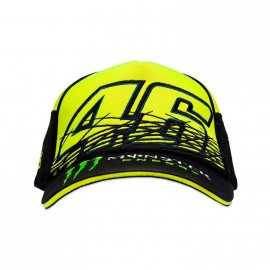 Casquette Monster VR46 replica  jaune fluo