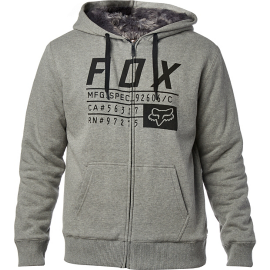 Sweat Fox Compliance Sasquatch zippé gris