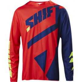 Maillot Shift 3lack mainline bleu rouge