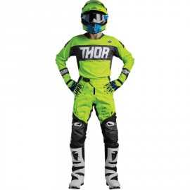 Tenue cross Thor S8 Fuse Bion lime