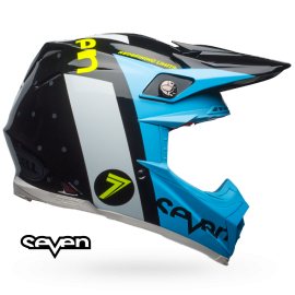 Casque cross Bell Moto-9 Flex Seven flight noir