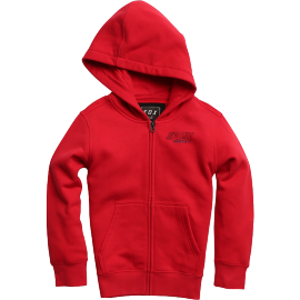 Sweat Fox enfant Edify zippé rouge