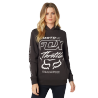 Sweat Fox femme Throttle Maniac noir