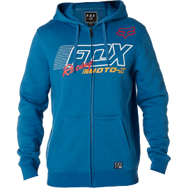 Sweat Fox Flection zippé bleu