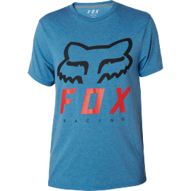 Tee-shirt Fox Heritage Forger technique heather blue