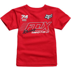 Tee-shirt Fox kids Flection rouge