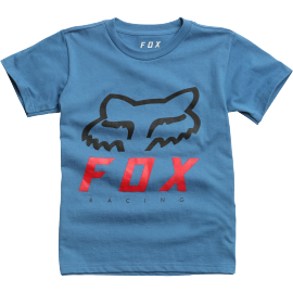 Tee-shirt Fox kids Heritage Forger bleu