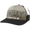 Casquette Fox Throttle maniac noir