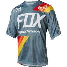 Maillot Fox Demo Drafter slate blue 2018