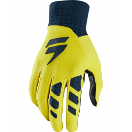 Gants Shift 3Lue Air Edition Limitée navy yellow 2018