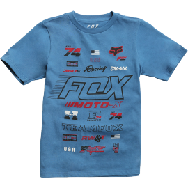 Tee-shirt Fox Enfant Edify bleu