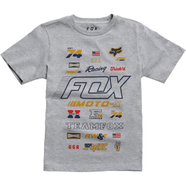 Tee-shirt Fox Enfant Edify gris 2018