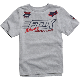 Tee-shirt Fox Enfant Flection gris