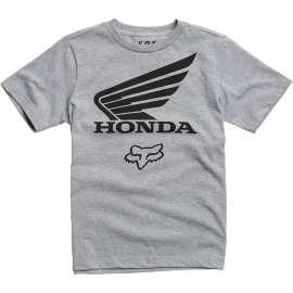 Tee-shirt Fox Enfant Honda gris