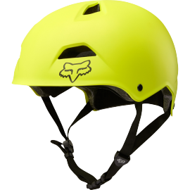 Casque bol Fox Flight Sport jaune fluo noir 2018