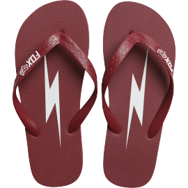 Tongs Fox Throttle Maniac flip flop dark red