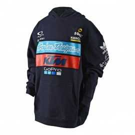 Sweat Troy lee designs enfant Team KTM bleu