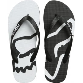 Tongs Fox homme Beached Flip Flop black white