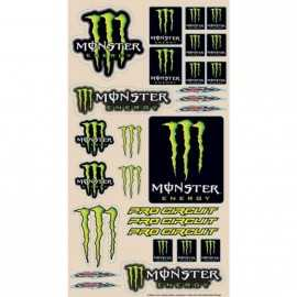 Planche stickers Monster Pro Circuit