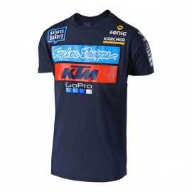 Tee-shirt Troy lee designs Team KTM navy