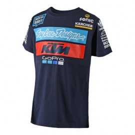 Tee-shirt Troy lee designs enfant Team KTM bleu