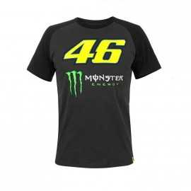 Tee-shirt Monster VR46 noir