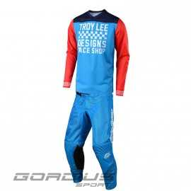 Tenue Troy lee designs GP Air Raceshop ocean