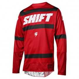 Maillot Shift 3lack Strike dark red