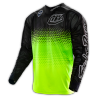 Maillot Troy Lee Designs Se Air Starburst jaune fluo noir