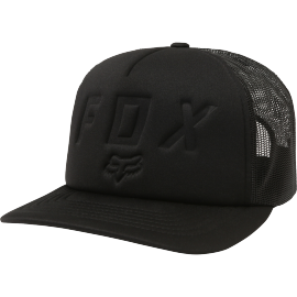 Casquette Fox Foaming At The Moth trucker black vintage