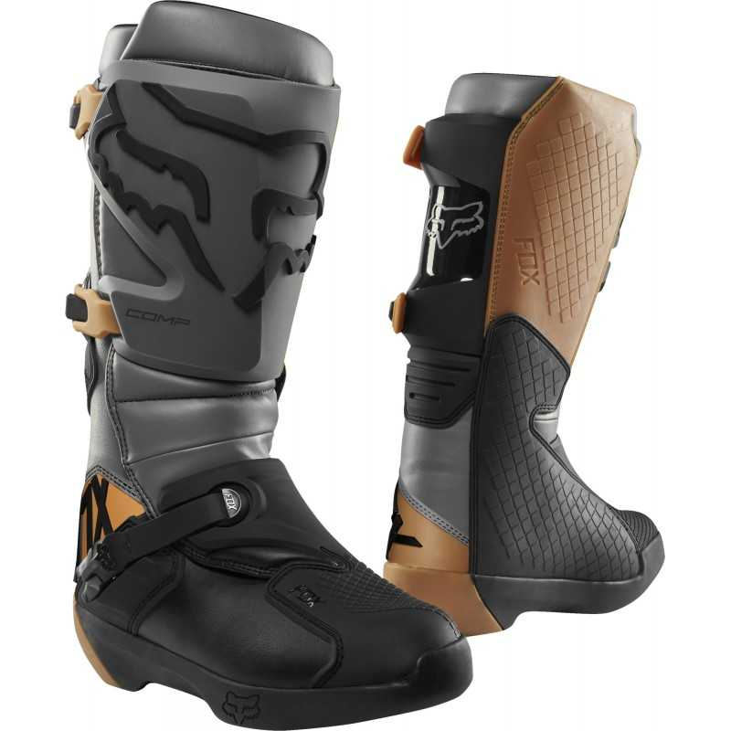 Botte Fox Comp pas cher | botte moto cross Fox pas cher