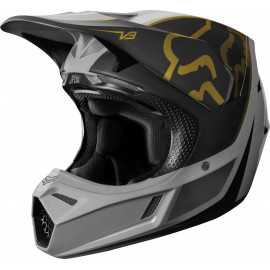 Casque cross Fox V3 Kila grey 2019