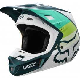 Casque cross Fox V2 Murc green 2019