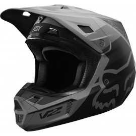 Casque cross Fox V2 Murc black 2019
